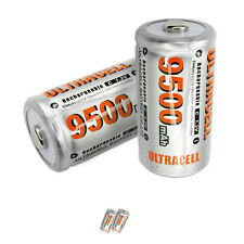 2 C 9500mAh Ni-Mh 1.2V rechargeable battery ULTRACELL