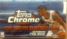 1999-00 TOPPS CHROME BASKETBALL Factory Sealed HOBBY Box