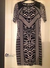 M&S Collection Black and White Shift Dress Size 10