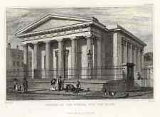 """Fisher's - """"CHURCH OF THE SCHOOL FOR THE BLIND"""" - H-C Eng. by C. Fenn - 1836"""