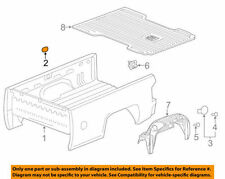 GM OEM Pick Up Box Bed-Hole Plug 23115245 with Spray on Bedliner qty. 9
