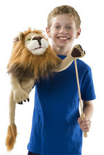 RORY THE LION  HAND PUPPET # 2568 ~ Free Shipping in USA ~ Melissa & and Doug