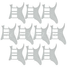 10pcs Electric Guitar Pickguard For Ibanez RG 7V replacement White Pearl