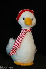 Schmid (Gordon Fraser) Musical Wind-Up Christmas Duck Plush Toy Doll 1984 NWT