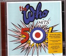 2 CD WHO - Hits 50 (NEU! dig.rem. Best of My Generation Seeker Behind blue eyes