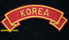 KOREAN WAR TAB HAT PATCH PIN UP US ARMY MARINES NAVY AIR FORCE KOREA VETERAN WOW