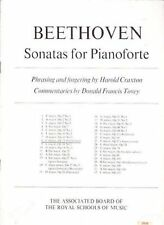 Beethoven Sonatas For Pianoforte E Flat Major Op. 81a Piano Book ABRSM S102