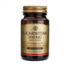 Solgar L-Carnitine 500 mg Tablets 30