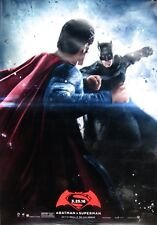BATMAN V SUPERMAN DAWN OF JUSTICE 2016 Ver B DS 2 Sided 4x6' Bus Shelter Poster