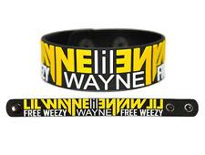 LIL WAYNE Rubber Bracelet Wristband I Am Not A Human Being Rich Gang