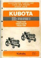 Kubota Tractor b1550d b1550hst-d b1750d & b1750hst-d Manual De Piezas