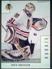 CRAIG ANDERSON  02/03 AUTHENTIC REDEMPTION ROOKIE CARD  SP