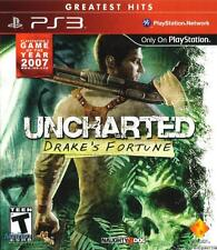 Uncharted 1 Drake's Fortune; PS3 original game; [brand new]