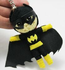 BATGIRL BATMAN MOVIE VOODOO KEYCHAIN KEYRING STRING DOLL HANDMADE TOY CRAFT New