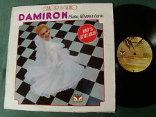DAMIRON, piano, ritmo y coros: AMOR LATINO LP Puerto-Rico VELVET 3058 BAILABLE !