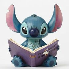 Disney Traditions Lilo and Stitch, Stitch and Story Book Finding a Family Statue