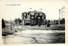 1940s Real Photo PC; Pomfret Inn, Pomfret CT Windham County Posted