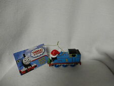 CHRISTMAS THOMAS THE TANK ENGINE IN SANTA HAT ORNAMENT-NEW-KURT ADLER