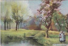 An orchard near Hartmoor - artist post card