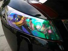 "12""x84"" Chameleon Neo Clear Color Headlight Taillight Fog Light Vinyl Tint Film"
