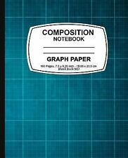 Graph Paper Notebook : Blue Cover ,Graph Paper Notebook, 7. 5 X 9. 25, 160...
