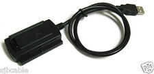 "USB 2.0 to IDE SATA ATA ATAPI 2.5"" 3.5"" HD HDD Converter Cable Adapter"
