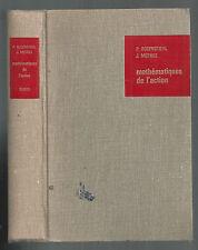 MATHÉMATIQUES DE L'ACTION PAR P.ROSENSTIEHL ET J.MOTHES 1968 DUNOD