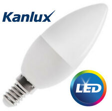 Kanlux 6.5W SMD LED (48W Equivalent) SES E14 Candle Light Bulb Cool White 600 Lm