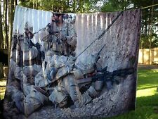 US Army 82nd Airborne in Afghanistan 8' x 12' scene