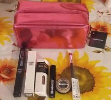 "7-PC Bare Minerals ""EYECOLOR WARDROBE COLLECTION""-Beautiful  Eye Set w/Bag-New!"