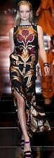**GUCCI** Spring Summer 2014 Silk Multi Print Tabard Tunic Maxi Dress **RUNWAY**