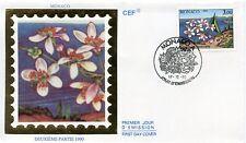 FDC / PREMIER JOUR / MONACO / LES QUATRE SAISONS DE CITRONNIER 1990 PRINTEMPS