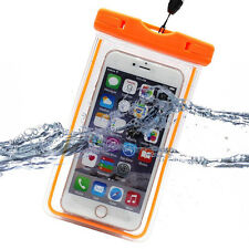 Universal Fr Phone Luminous Glow Underwater Waterproof Bag Pouch Case Neck Strap