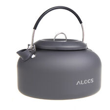CW-K03 Alocs Outdoor Kettle Camping Cookware Water Pot 1.4L Hiking Picnic Travel