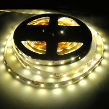 Warm White 5M 300leds 3528 Flexible LED Strip Lights Ribbon Non-Waterproof 12V