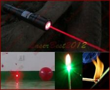 609-R 650nm Adjustable Focus Red Laser Pointer Laser Torch Laser Pen Burn Match