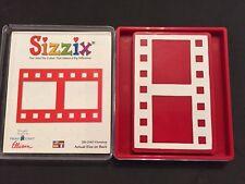 Sizzix Die Filmstrip Photo Frame Red Originals Scrapbook DieCut Retired NEW Case