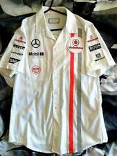 Official Vodafone McLaren Mercedes Team 2013 50 Anniversary F1 Shirt Size Mens S