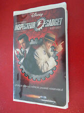 VHS French Movie Inspecteur Gadget ! Walt Disney
