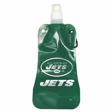NFL New York Jets Foldable Water Bottle Officially Licensed 16 oz. Free Shipping
