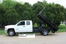 Pickup FLATBED Dump Bed Hoist Kit. Turn into dump truck. 10,000 lbs. Easy instal