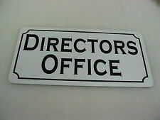DIRECTORS OFFICE Metal Sign 4 Play House Theater Back Stage Drama Class