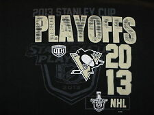 """""""Stanley Cup Playoffs 2013"""" T-Shirt Hockey Sports Great Image(XL)"""