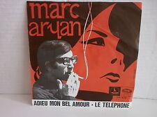 MARC ARYAN Adieu mon bel amour / le téléphone MA479