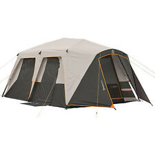 Large Instant Camping Tent 9 Person 15' x 9' Fishing Family Cabin Outdoor Canopy