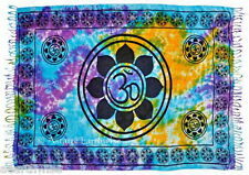LOTUS SARONG TIE DYED Wicca Witch Pagan Goth 1066 x 1730 mm LARGE  110I