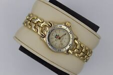 Tag Heuer Watch Mini Womens Gold SEL S94.708 WG1430 S/EL Link SS Mint Glass