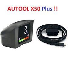 Water Temperature Gauge Digital Voltage Meter OBD Tachometer Speed Display PNP