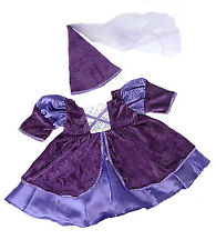 """Medieval Princess Costume Teddy Bear Clothes Fits 14""""-18"""" Build-A-Bear and More"""