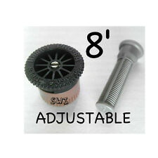 HUNTER 8A PRO ADJUSTABLE NOZZLE  0°-360°,  8',  2.4m,  2.4 METERS,  8 feet,  8ft